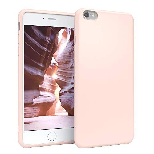 EAZY CASE Handyhülle Silikon mit Kameraschutz für Apple iPhone 6 / 6S in Hellrosa, Rosa, Ultra dünn, Slimcover, Silikonhülle, Hülle, Softcase, Backcover