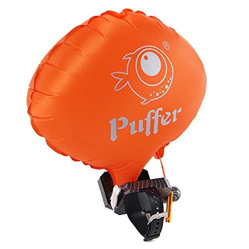 Riiai Pulsera flotante, portátil, antiahogamiento, salvavidas, pulsera de emergencia, buceo, supervivencia, para nadar
