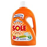 Sole Detersivo Liquido per Lavatrice, Eucalipto, 37 Lavaggi, 1.85L