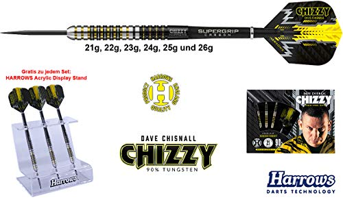 Harrows Darts Dave Chisnall Chizzy 90% Tungsten Steeldarts 22g