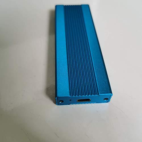 Disco duro externo de 2 TB, disco duro portátil externo Tipo-C/USB2.0 HDD para Mac Laptop PC (2 TB, azul)