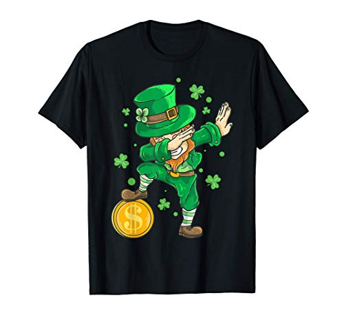 Disfraz de Irlanda Dabbing Duende Da de San Patricio Camiseta