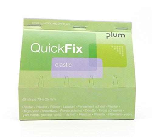 QuickFix Pflaster elastic/textil Nachfüllpack (45 Pflasterstreifen 72 x 25 mm)