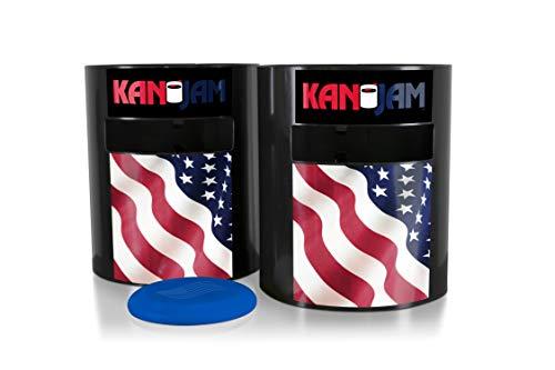 Image of the Kan Jam Original Disc Throwing Game - Vintage Flag Edition