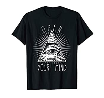 Open Your Mind Illuminati T-Shirt