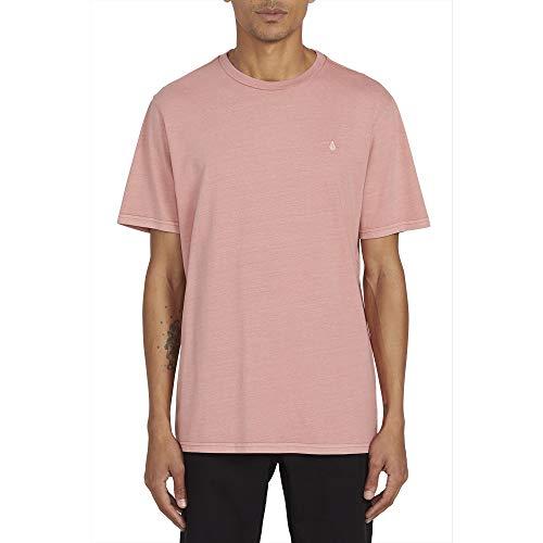 Volcom Solid Stone Emb S/S Tee T-Shirt für Herren XL Sandstone