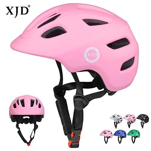 XJD Fahrradhelm Innocent X1 CE&EN Zertifizierung Schlagfestigkeit Belüftung für Fahrrad Roller Rollschuh Skateboard 2-8 Jahre alt Kleinkind (Pink, S)