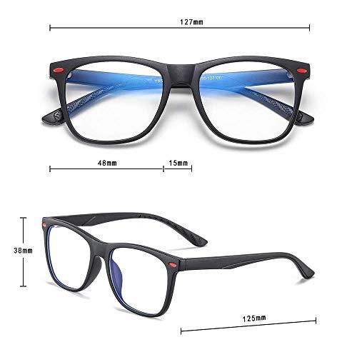 Black Fake Glasses Anti Bluelight Glasses for Kids Penbea Kids Blue Light Blocking Glasses Blue Light Glasses for Kids Girls Boys Age 7-12