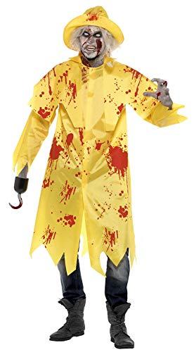 Déguisement Zombie Pêcheur Adulte Halloween - Large