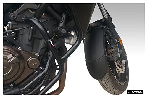 YGLIANHE Fender Extender/Extensta Fenda/Mudguard Extension Compatible con Yamaha Tracer 700 (MT/FZ-07 Tracer) -2020 (Color : Black)