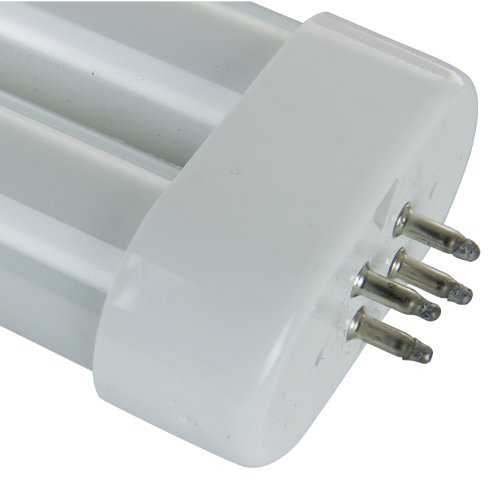 Black Light Sunlite 05180-SU FUL50T10//BL 50-watt FUL 4-Pin Single U-Shaped Twin Tube Compact Fluorescent Plug-in GX10Q Base Light Bulb