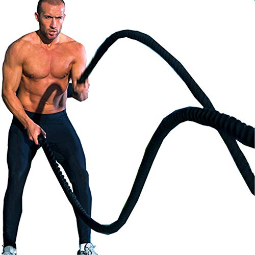 GYJ Battle Rope, Training Battling Power Oefening Undulation Ropes, Spier Toning Metabolische Workout Fitness, Oefening Fitness Bootcamp