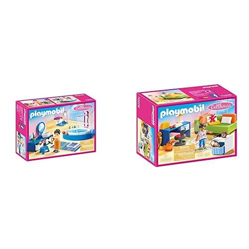 PLAYMOBIL Dollhouse 70210 Baño, A Partir De 4...