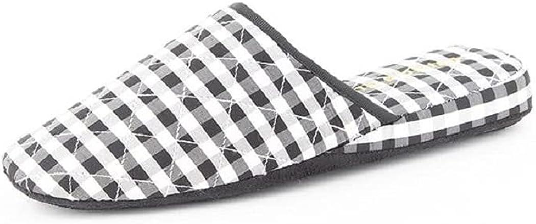 Patricia Green Women's Silk Check Slippers
