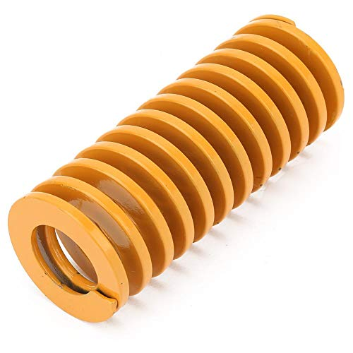 OKBY Formfeder-1St. Hochgenaue Stahlgelbe Formwendelfeder zum Stanzen von Metallwerkzeugen 50 mm(TF50*50mm)