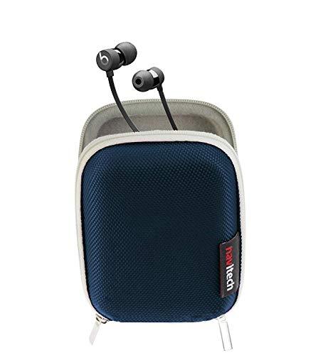 Navitech Blau Harter schützender Kopfhörer Kasten für SoundMAGIC E10BT Bluetooth Earphones