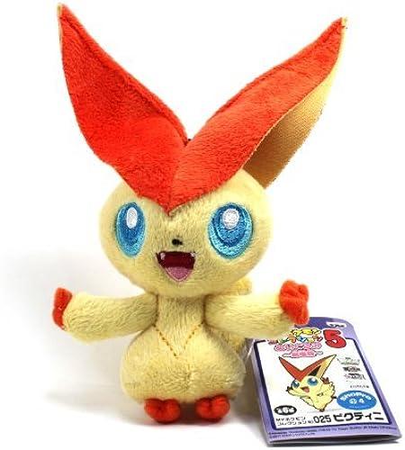 BANPRESTO My Pokemon Collection schwarz & Weiß Best Wishes Mini Plush - 47442 - 4 Victini by