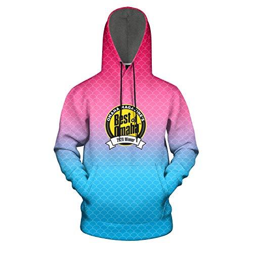 Dundee-Dell-Best-of-Omaha- Tie Dye Hoodies for Men Outdoor Hooded Sweatshirt