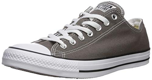 CONVERSE Chuck Taylor All Star Seasonal Ox, Unisex-Erwachsene Sneakers, Grau (Charcoal), 35 EU