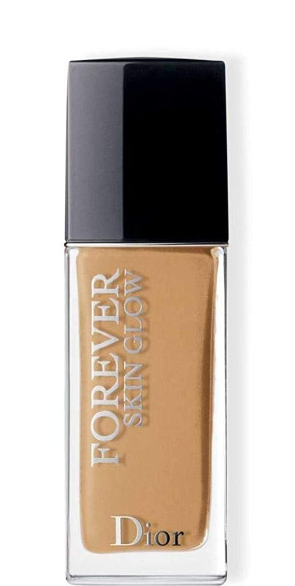 豊富な出撃者島クリスチャンディオール Dior Forever Skin Glow 24H Wear High Perfection Foundation SPF 35 - # 4WO (Warm Olive) 30ml/1oz並行輸入品