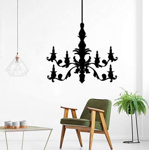Kerze Wandaufkleber Wohnzimmer Kinderzimmer Dekoration Diy Aufkleber Vinyl Wall Paper Persönlichkeit Art Decal 43x50cm