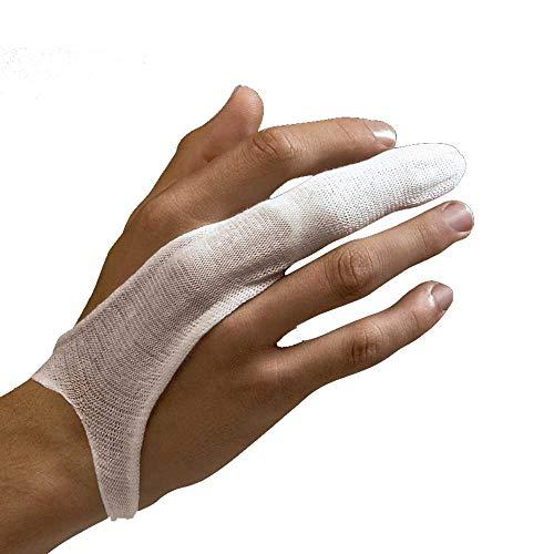 Holthaus Medical Fingerlinge Fixierverband Verband Fingerverband Verbandschutz, nahtlos, 50 St