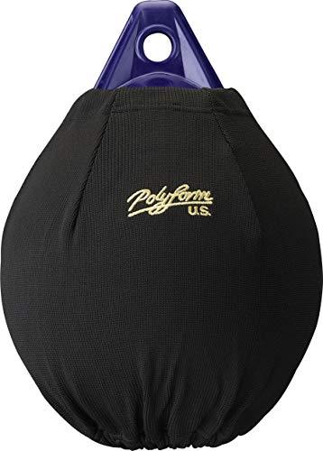 Polyform EFC-A4 Black Boat Fender Cover Fits Polyform A-4 Boat Fenders