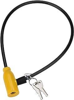 Fietsslot Fietsen 8x640mm Kabel Anti-Diefstal Fiets Scooter Veiligheidsslot Met 2 Sleutels Outdoor fietsen Equitment fiets...