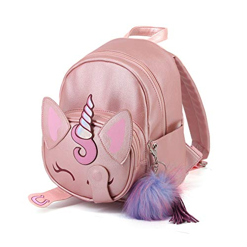 Oh My Pop! Oh My Pop! Unicorn-zaino Fashion Shy Zaino Casual, 28 cm, 8 litri, Pink