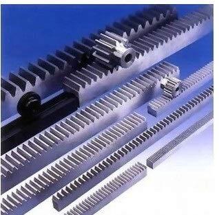 YAYANG Gear 2pcs / Lot 1Mod 1 Modulus High Precision Zahnstangen Stahl 10 * 10 * 500mm + 2pcs 1M 17teeth Ritzel Durable Parts (Hole Diameter : 10mm, Number of Teeth : 17 Teeth)