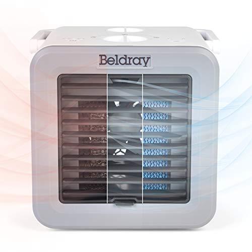 Cubo de climatización EH3327VDE de Beldray® con enchufe europeo | Controlador de climatización portátil con funciones de calefacción y refrigeración | Temperatura ajustable