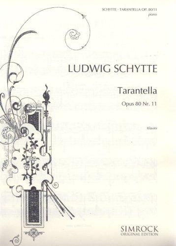 Tarantella: op. 80/11. Klavier.