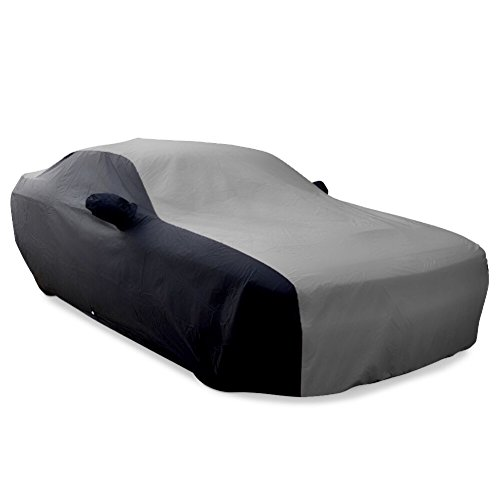 2008-2020 Dodge Challenger Ultraguard Plus Car Cover - Indoor/Outdoor Protection (Gray/Black)