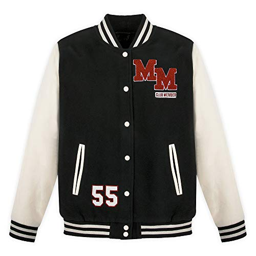 Disney Mickey Mouse Mouseketeer Letterman Jacket for Adults Size Unisex M Multi