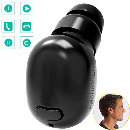 Bluetooth Headset Wireless Mini in Ear Headphone Stereo Earbud HD Sound New Update Earpiece Compatible with iOS iPhone Android Samsung LG Huawei Mobile Cell Phones