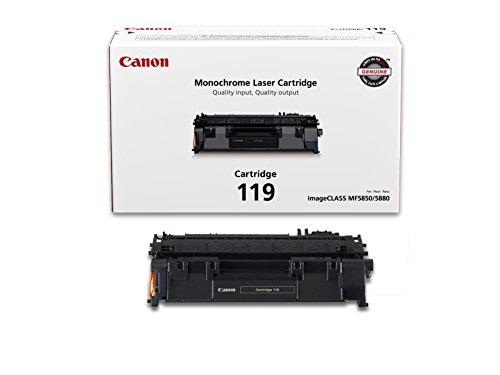 Canon Genuine Toner Cartridge 119, Black