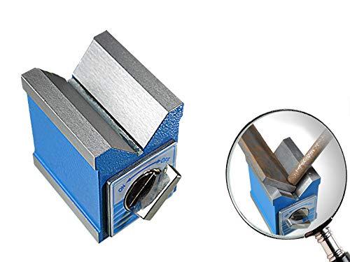 Spannblock Magnet 70x60mm Messstativ 90° Winkel Prisma Messprisma Haftmagnet