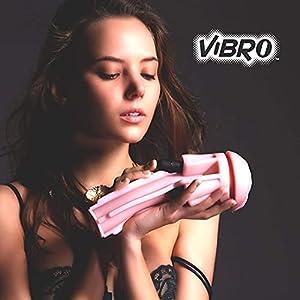 Fleshlight Vibro Vibrator for Men   Pink Lady   Vibrating Sex Toy