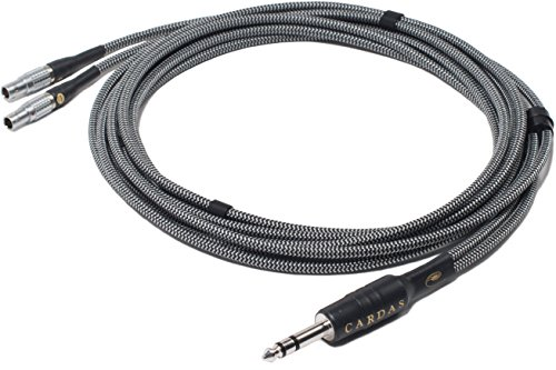 CARDAS AUDIO CLEAR Upgrade Audiophile Headphone Cable for FOCAL UTOPIA with 1/4' Plug, 9ft (2.75m) cord