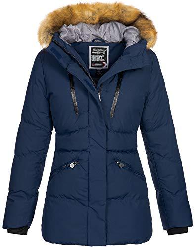 Geographical Norway D-437 - Chaqueta de invierno para mujer azul marino L