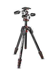 Manfrotto mk190goc4-3wx Carbon Fibre 4-Section Tripod Kit for Cameras Black (B0779CCXPB) | Amazon price tracker / tracking, Amazon price history charts, Amazon price watches, Amazon price drop alerts
