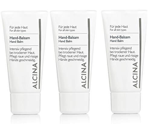 3er B Hand Balsam pflegende kosmetik Alcina pflegt raue und rissige Hände geschmeidig je 50 ml = 150 ml