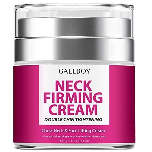 Neck Firming Cream, Anti Aging Moisturizer for Neck & Décolleté,...