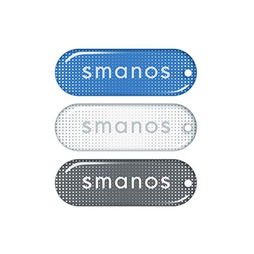SMANOS TG-20 RFID-Tags für Smanos RD-20 - Funk-Fernbedienung für die De-/Aktivierung der Wireless WiFi Haus Alarmanlage, Einfache RFID Steuerung für das Smanos Smart Home K1/K2, Einbruchschutz - 3 Stk