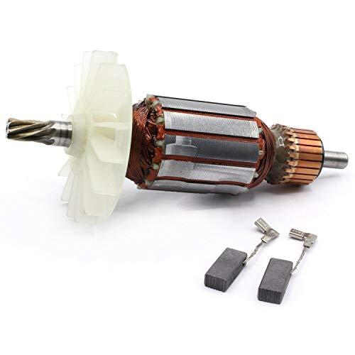 Anker Rotor Motor inkl. Lüfter + Kohlebürsten passend für Bosch GBH 2-28, GBH 2-28 D, GBH 2-28 DV, GBH 2-28 DFV, GBH 2-28 F