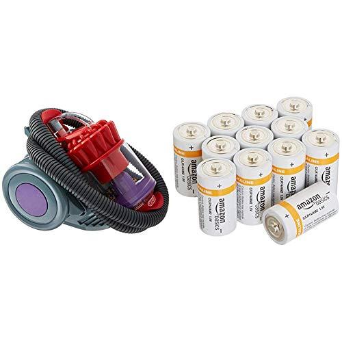 Spiel Dyson DC22 & Amazon Basics Batterien Alkali, Typ C, 12Stück