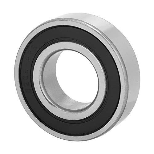 Rodamiento de bolas fino, acero para rodamientos duradero 6205-2RS Rodamiento sellado con caucho hecho de acero para rodamientos