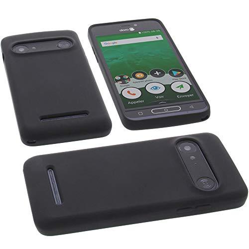 Hülle für Doro 8035 Tasche Silikon TPU Schutz Handytasche schwarz