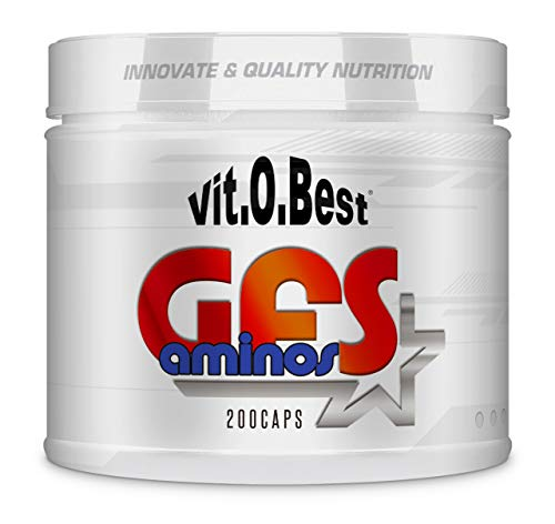 amino acidi essenziali GFS aminoacidi Polvere Polvere, capsule e fiale - muscolo forte recuperatore - Integratori - VITOBEST (neutro, 200 TripleCaps)