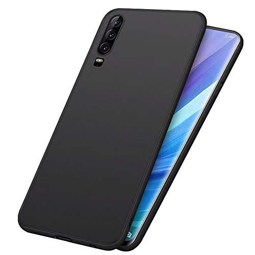 "LAYJOY Funda Huawei P30 2019, Silicona Negro Suave Carcasa Ligera Gel TPU Bumper Case de Protectora [Antideslizante] [Anti-Golpes] Cover Caso para Huawei P30 2019 de - 6.1"""